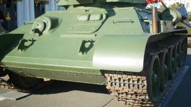 Tank T-34 of Times of World War ii