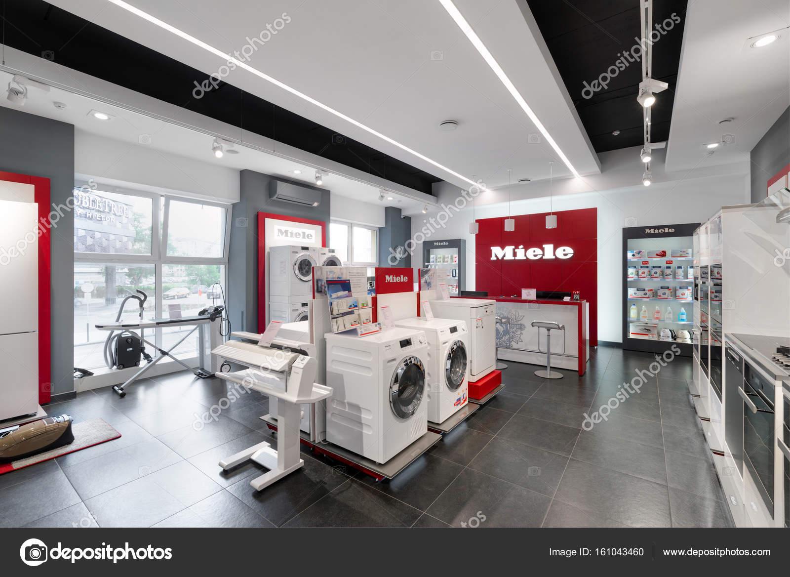 Minsk, Belarus - June 25,2017: Miele Sales Office In Minsk (Belarus ...