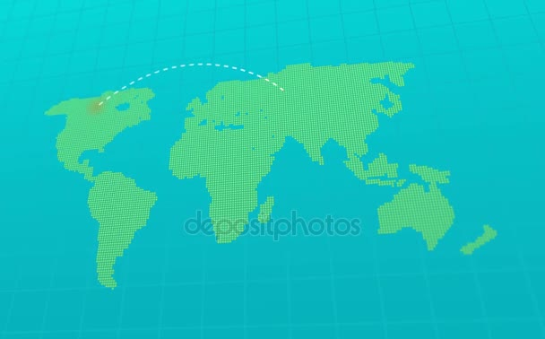 World map infographic animation stock video art li 131409756 world map infographic animation stock video gumiabroncs Choice Image