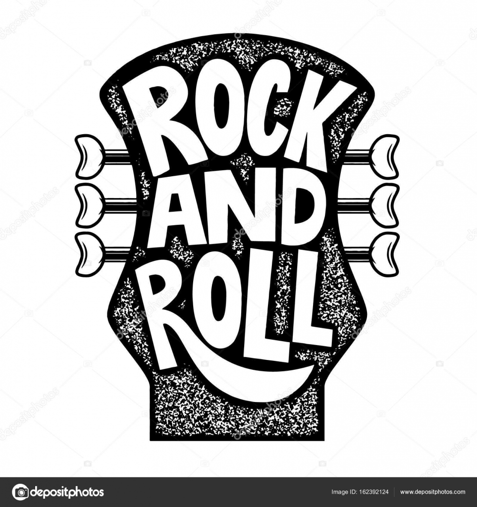 Imagenes Guitarras Electricas Con Frases Rock And Roll Frase