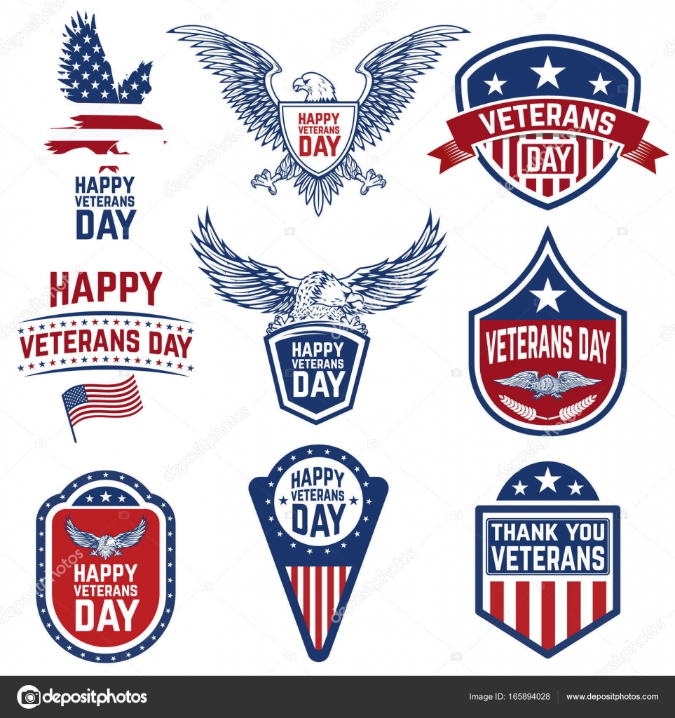 Us army logo stock vectors royalty free us army logo set of veterans day emblems isolated on white background stock vector biocorpaavc Images