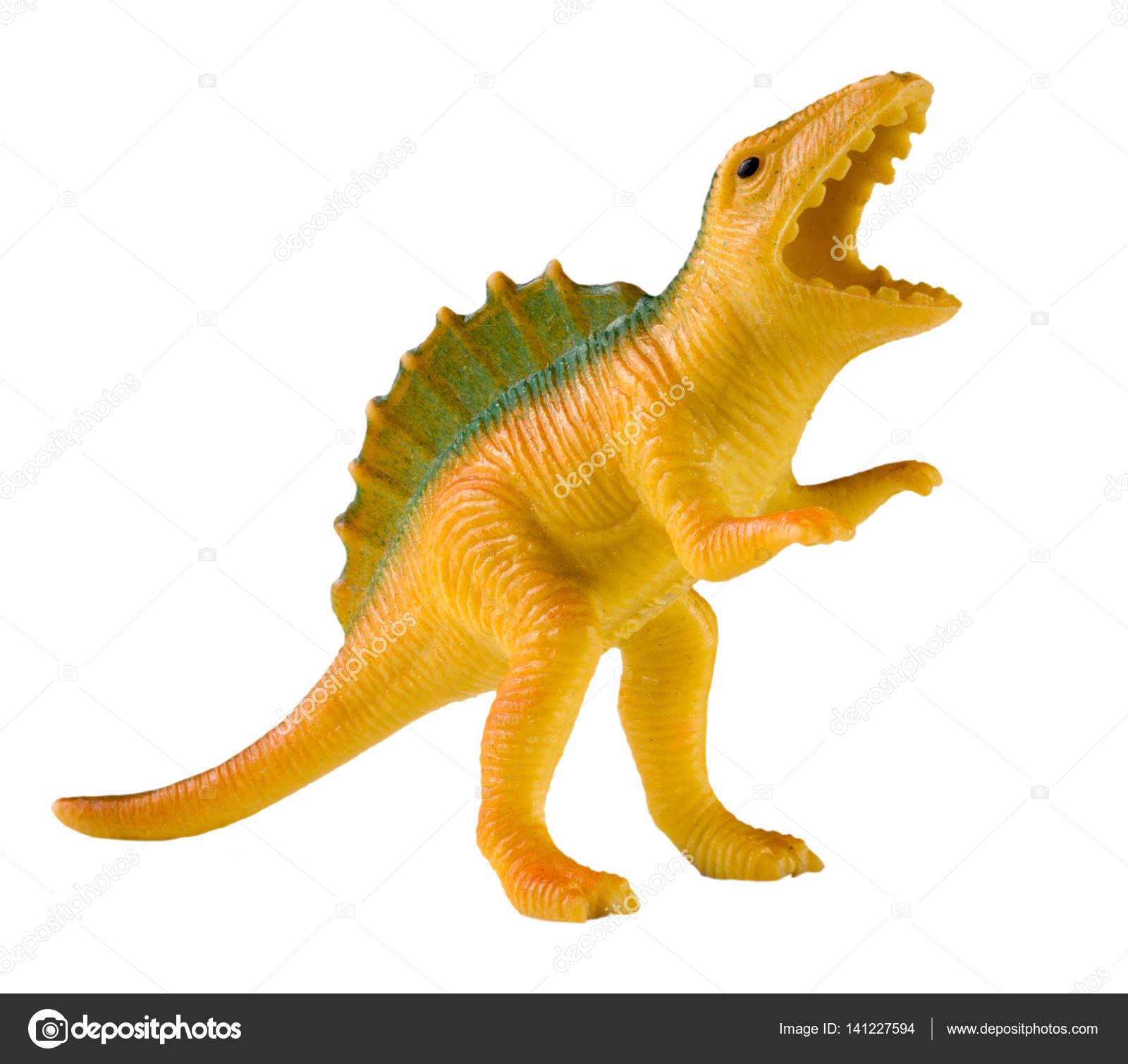 Animaux En Plastique Jouet jouet dinosaure plastique isolé sur fond blanc