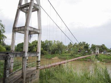 Suspension Bridge in Thailand