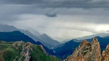 "Картина, постер, плакат, фотообои ""красивый пейзаж гор по утрам картины природа"", артикул 485776300"