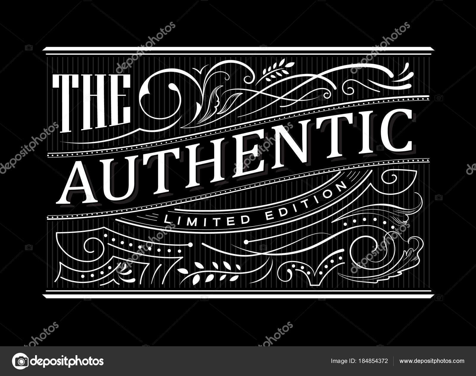 Antigua frontera marco occidental vintage etiqueta mano dibujado ...