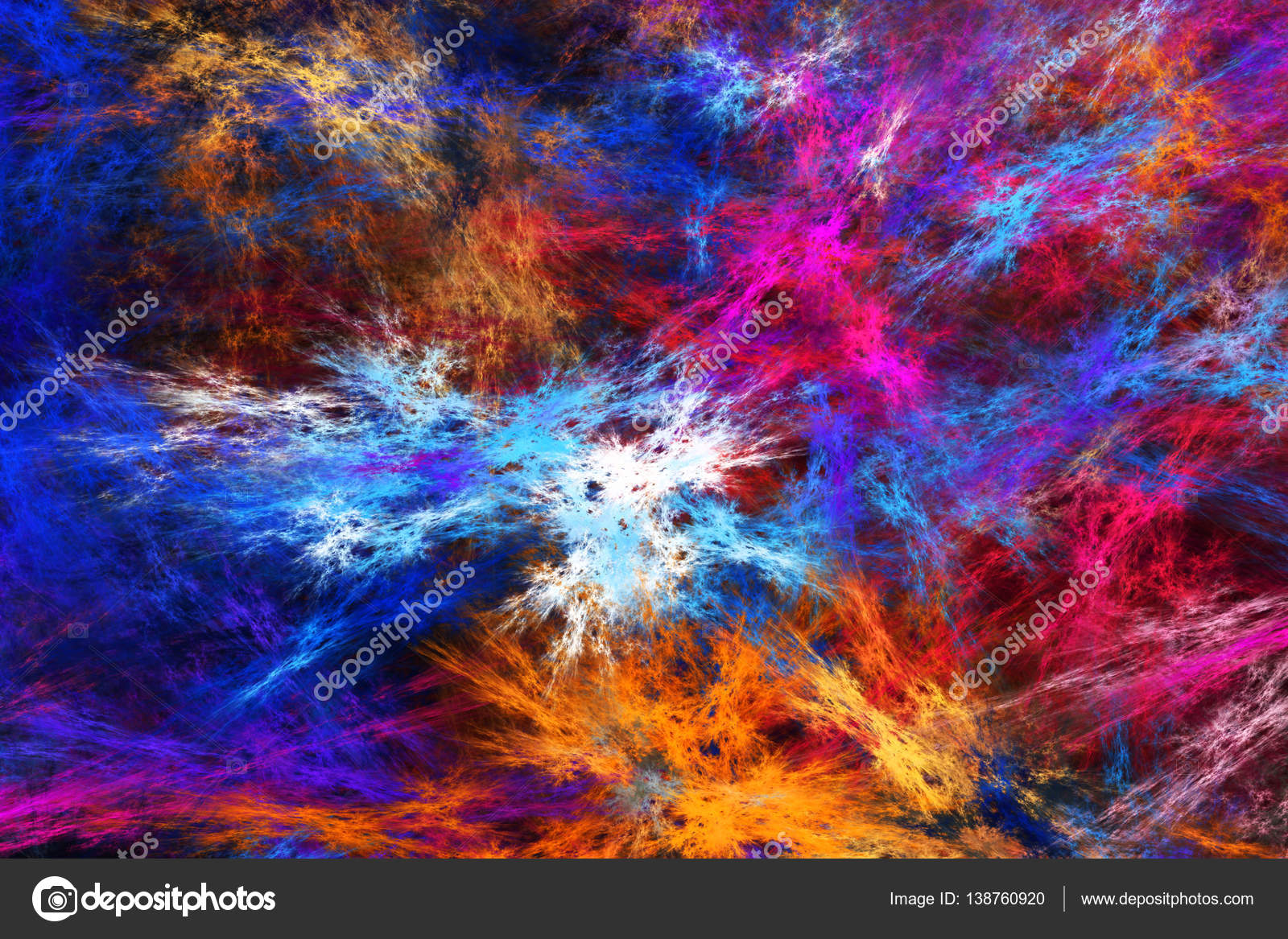 Abstract fractal background - unity  — Stock Photo © Magina2