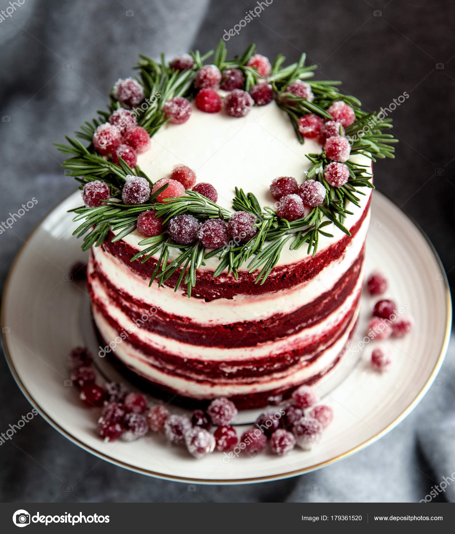 Red Velvet Torte Cake
