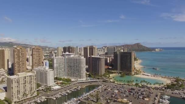 Antenna Waikiki Hawaii Ala Wai csónak kikötő