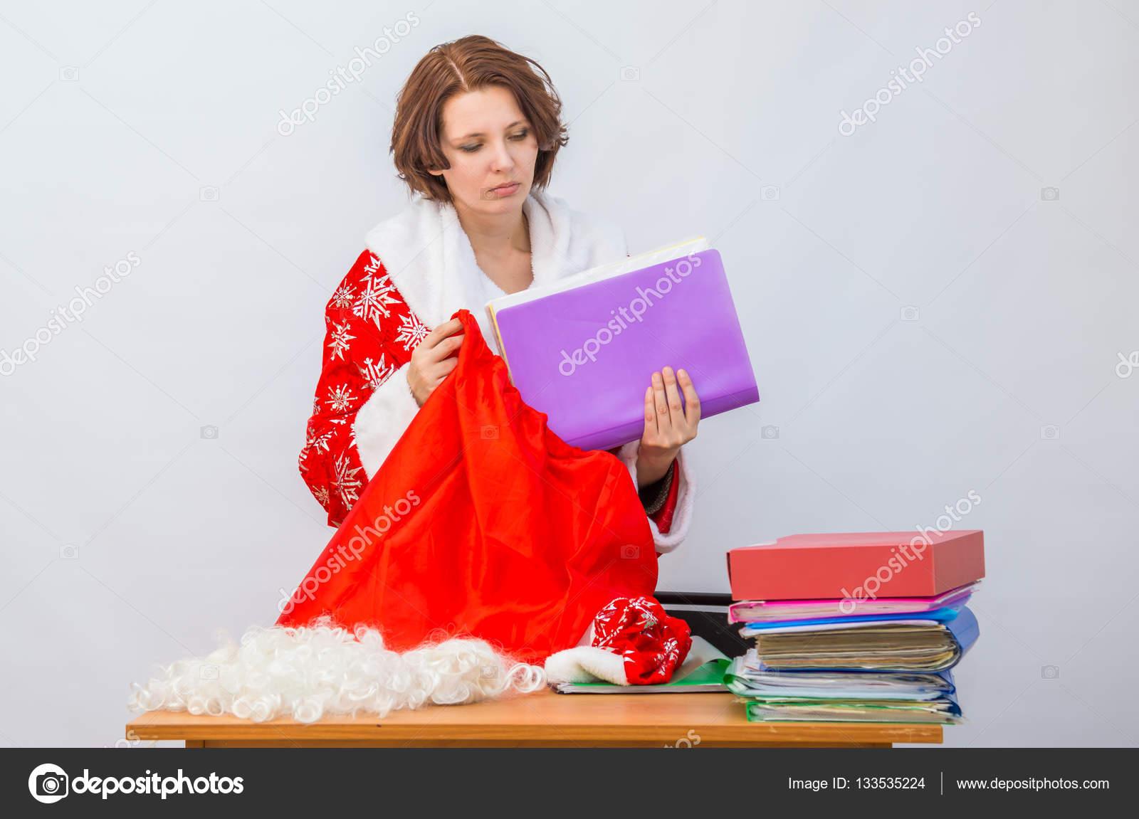 Fotos de mujeres vestidas de papa noel