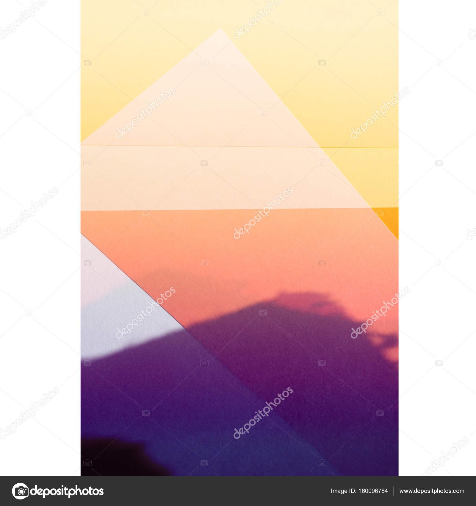 Abstrakte Muster Tapete Mit Verschiedenen Geometrischen Formen Und Farben U2014  Stockfoto