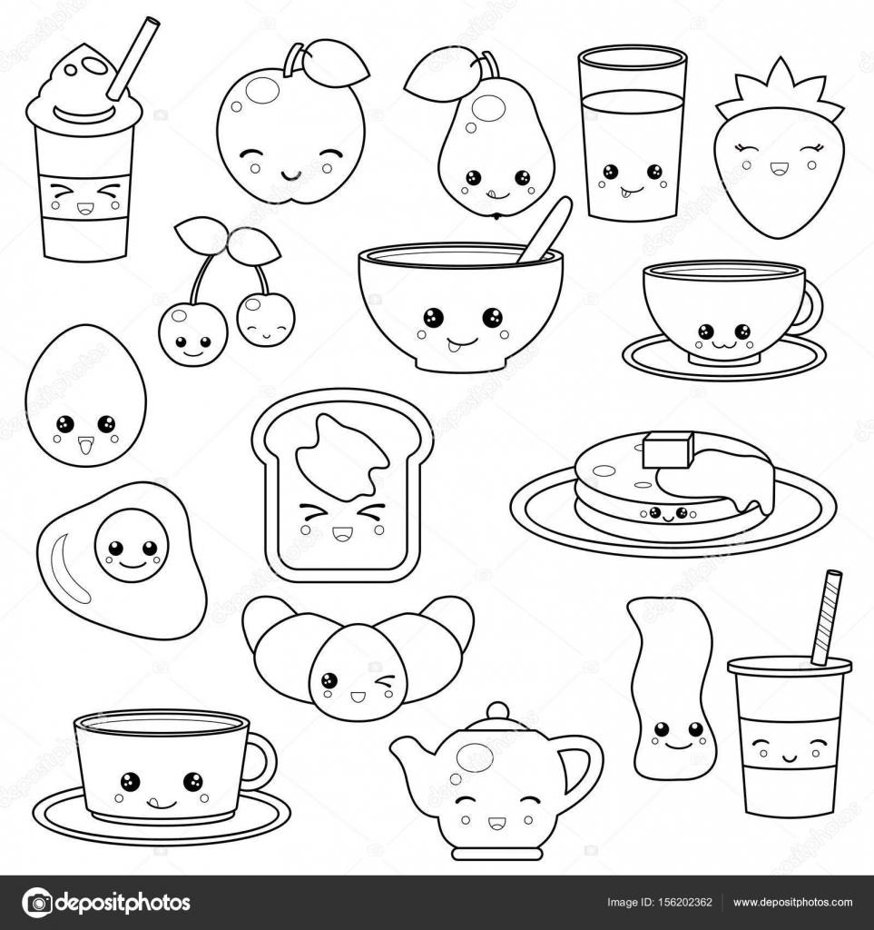 Kleurplaat Eten Met Gezicht Kleurplaten Tekeningen