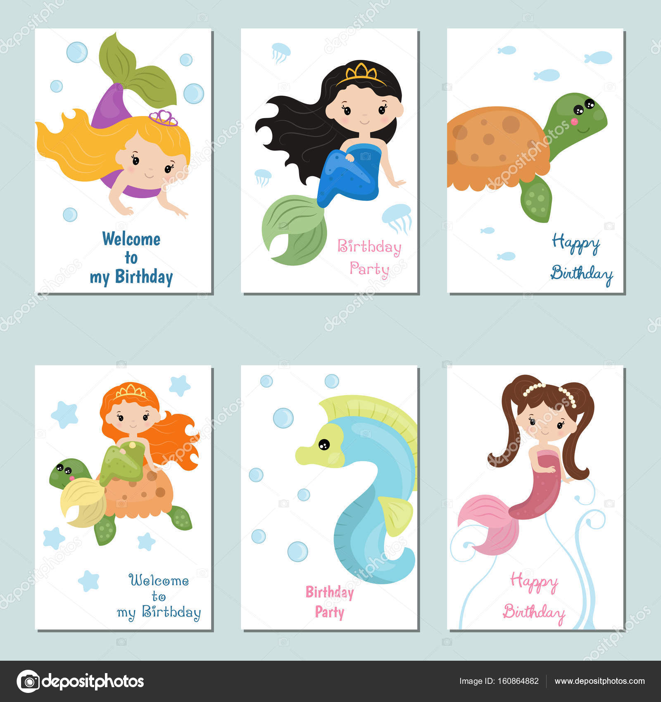 Bardzo dobryFantastyczny Zbiory ładny kartki urodzinowe — Grafika wektorowa © NinaMunha JC28