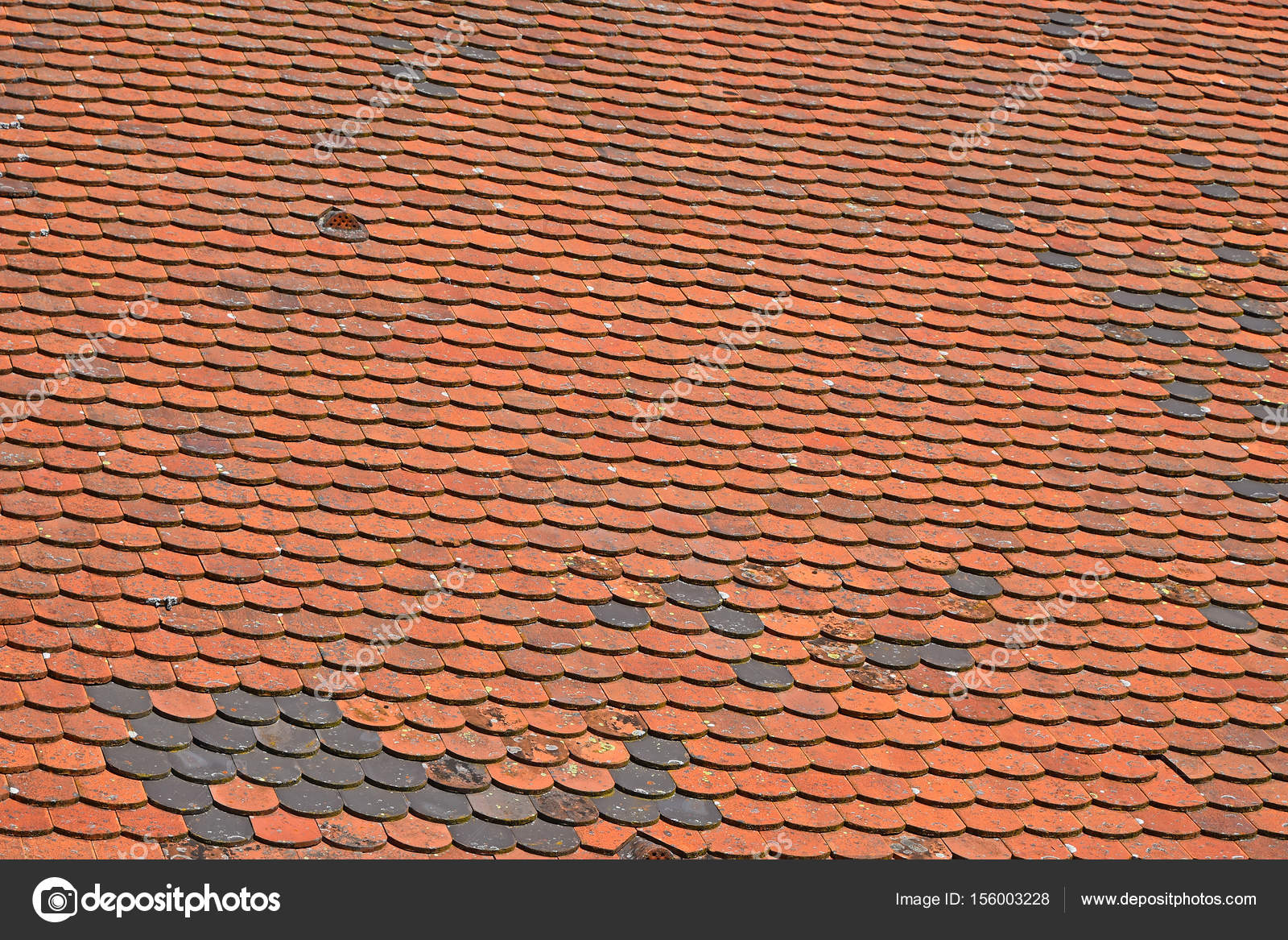 Old weathered red brown ceramic roof tiles stock photo old weathered red brown ceramic roof tiles stock photo dailygadgetfo Image collections