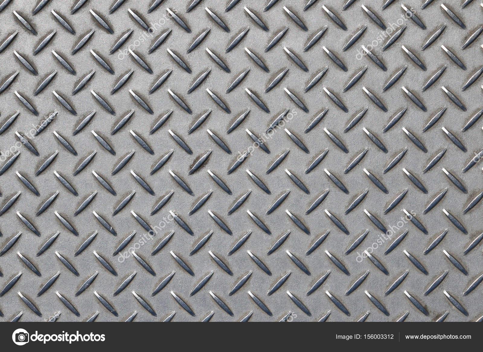 Deslizamiento chapa gris con rombos foto de stock for Chapa antideslizante