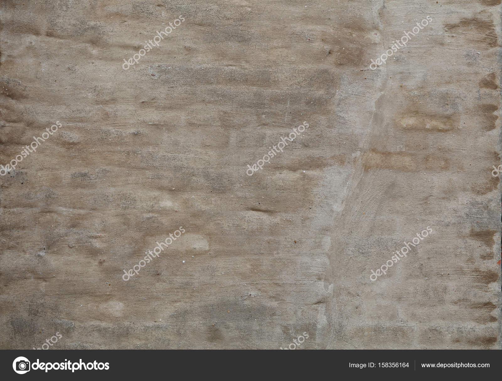 Wand Des Rauen Beige Braun über Ziegel Verputzen U2014 Stockfoto