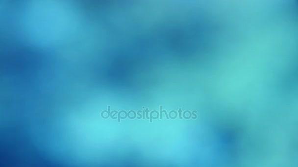Abstraktní rozostření pozadí modré vody glitter