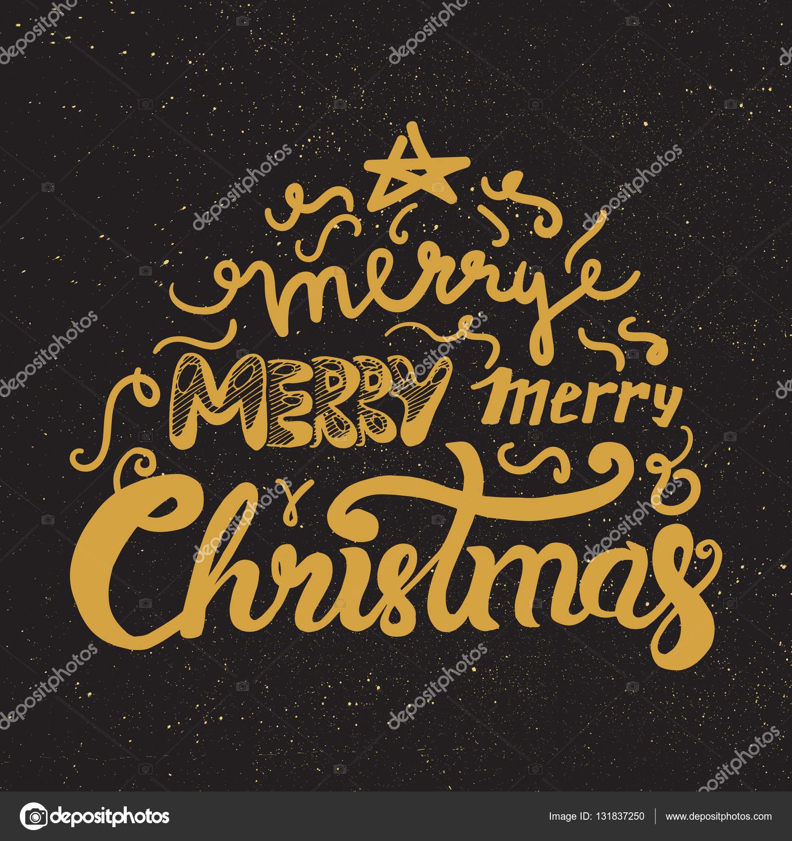 Frohe Weihnachten und guten Rutsch ins neue Jahr — Stockvektor ...