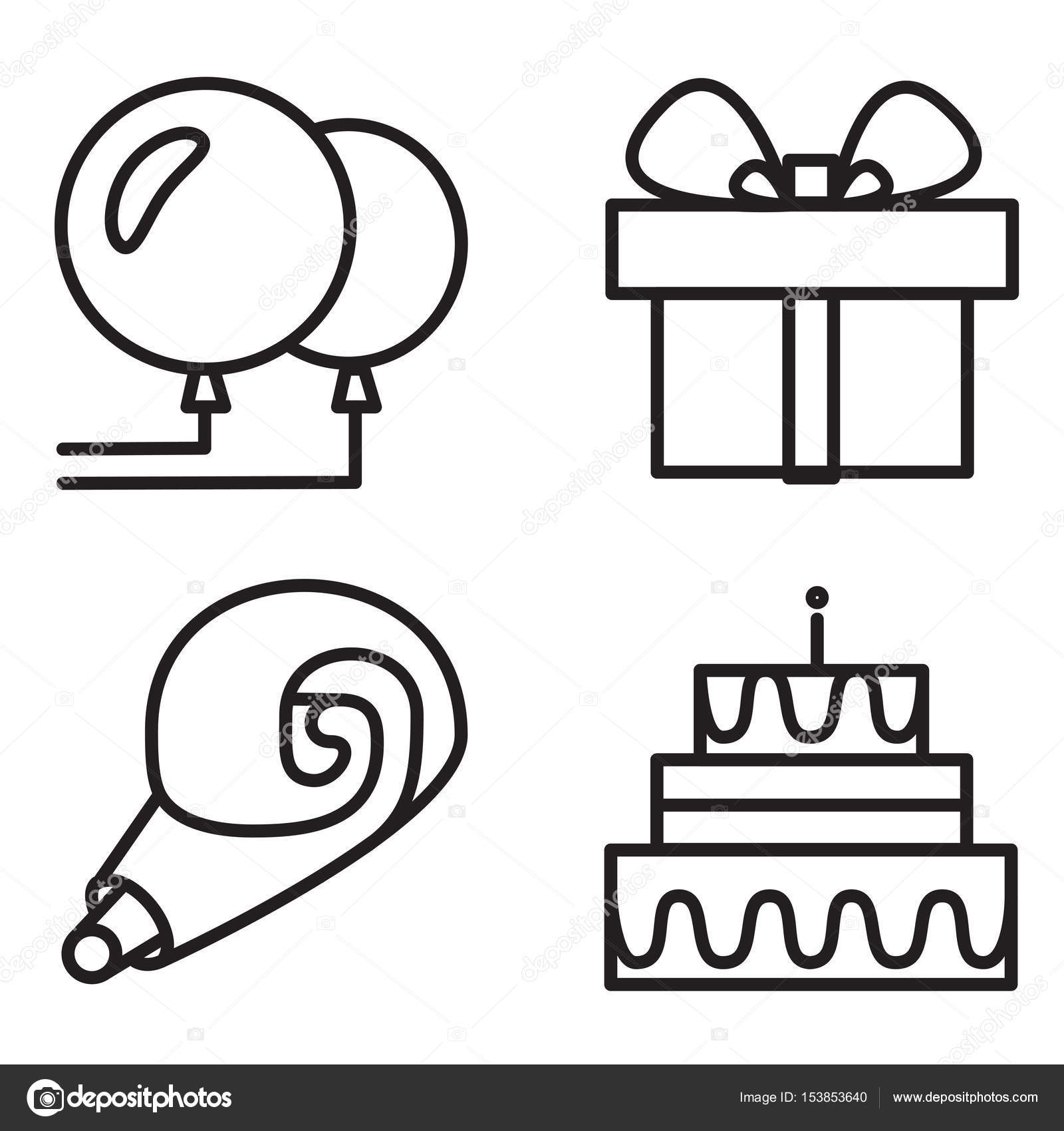 Feliz cumpleaños y mantener calma — Vector de stock © barsrsind ...