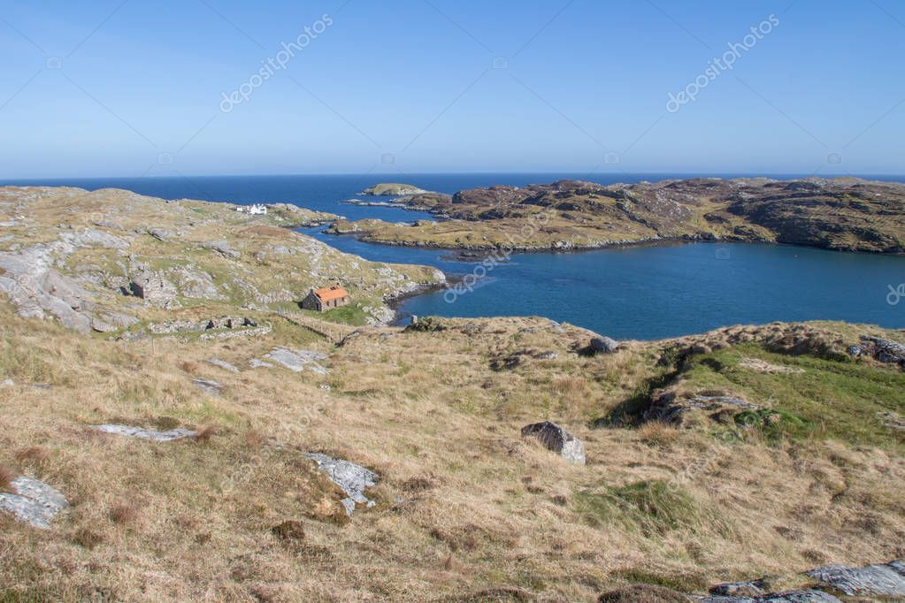 Manish (Manais) Natural Harbour and Bay of Harris