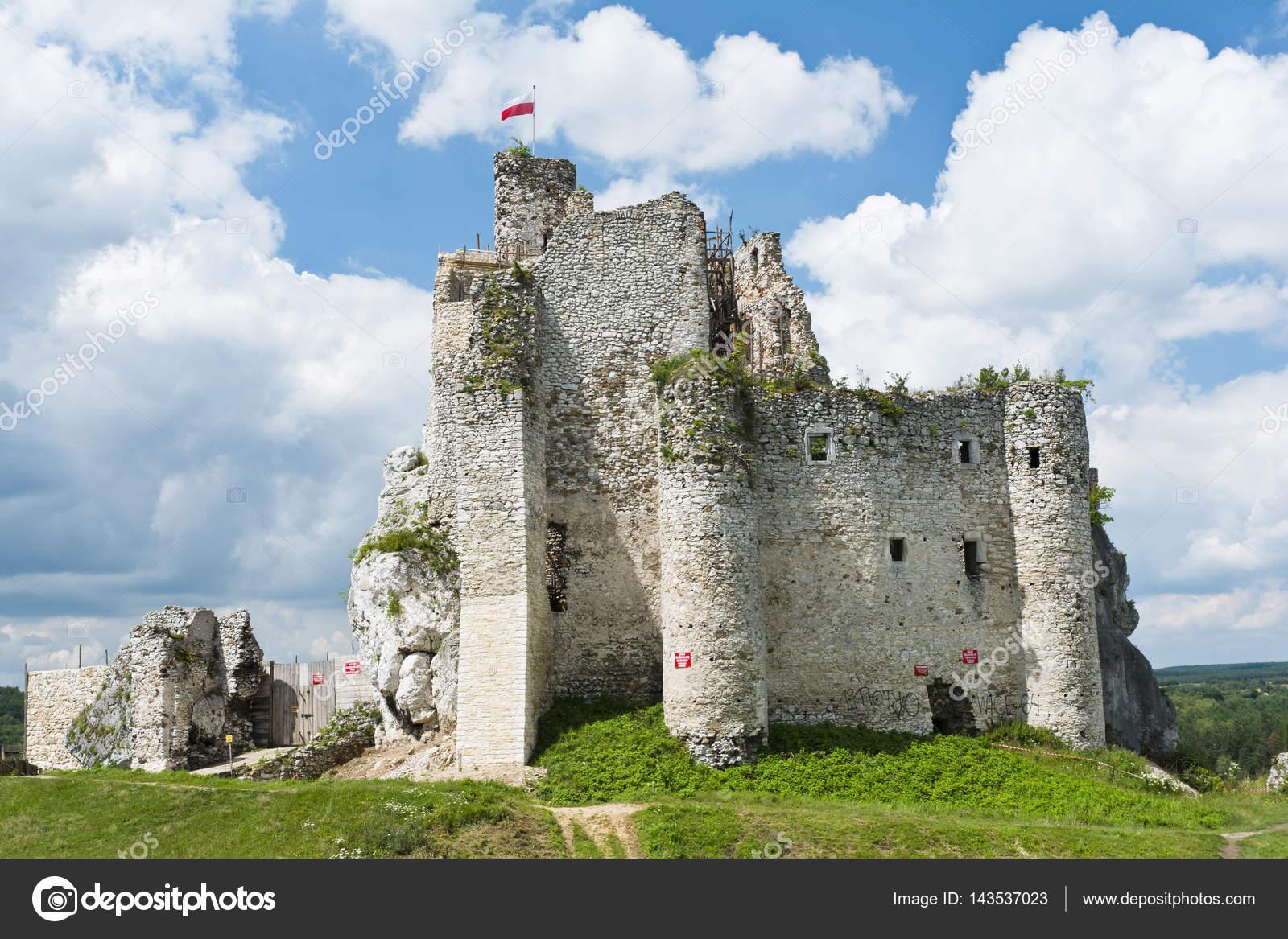 Le Rovine Del Castello A Mirow