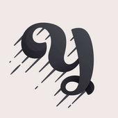 Fényképek Y betű logó. Böjt sebesség vektor parancsfájl típus