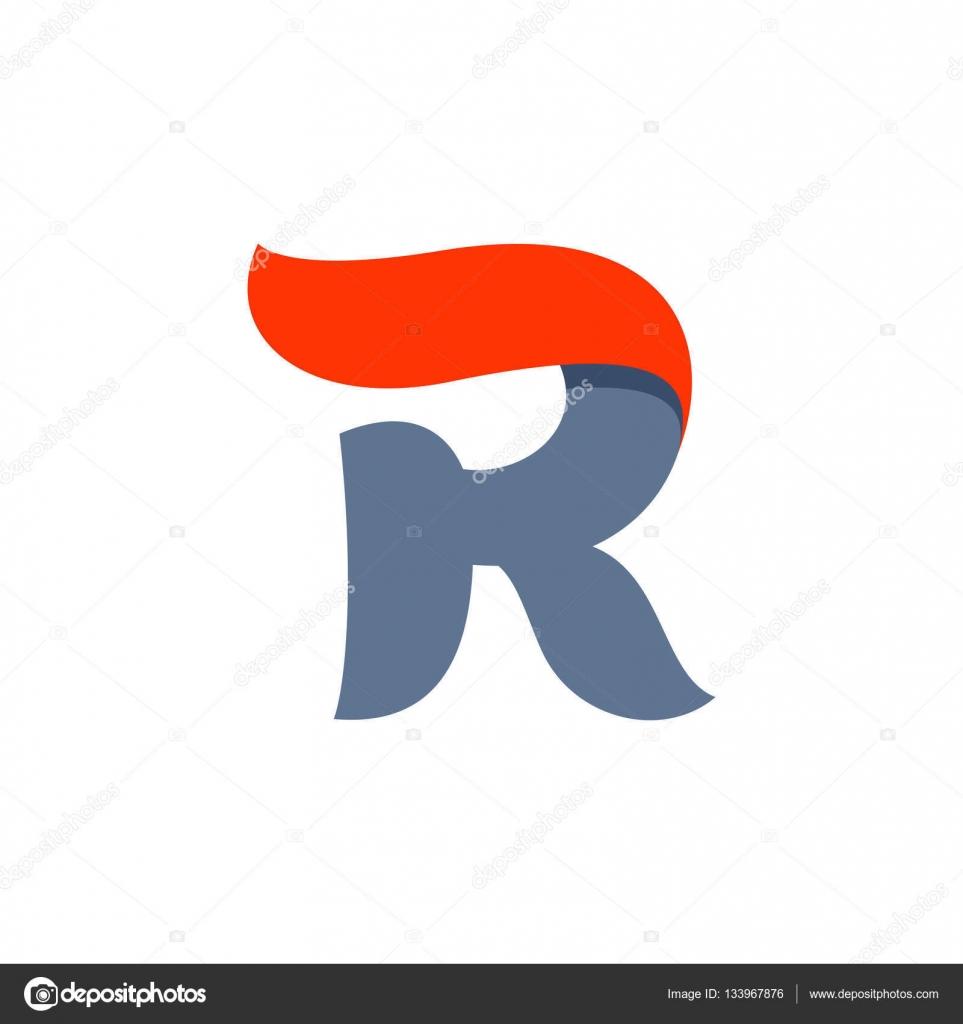 R letter logo with fast speed red flag line stock vector r letter logo with fast speed red flag line stock vector altavistaventures Gallery