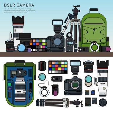 DSLR camera set