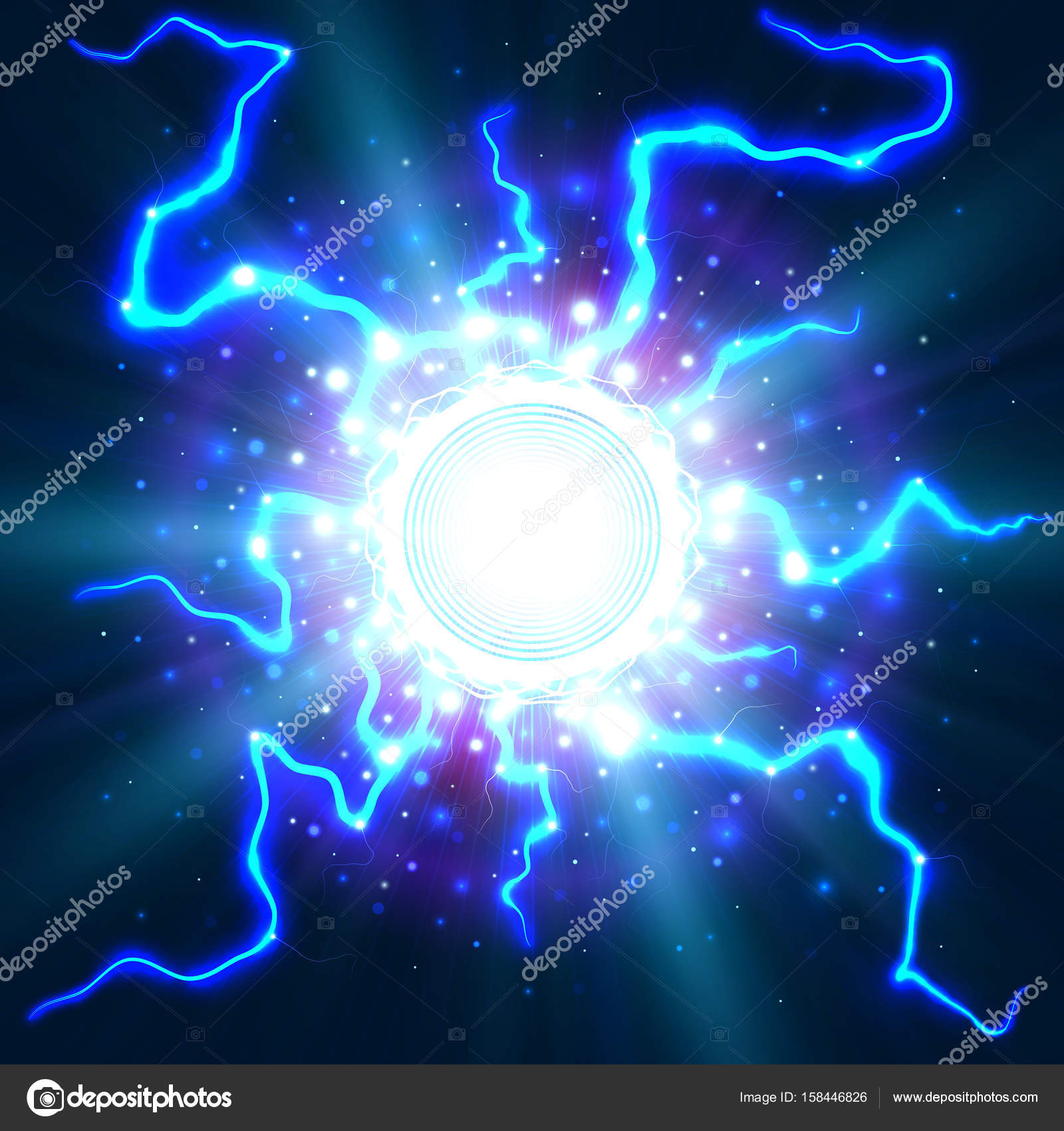 The Day After [Hawkman] Depositphotos_158446826-stock-illustration-lightning-an-explosion-of-electricity