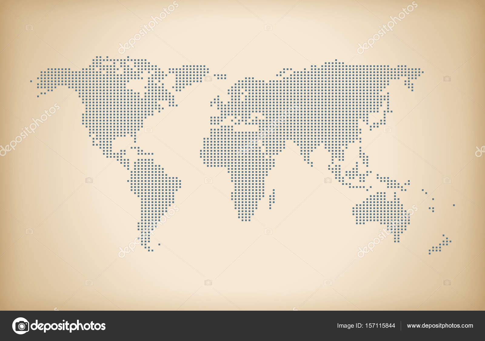 Vintage world map doted effects stock photo designworkz 157115844 digital world map with vintage effect high resolution photo by designworkz gumiabroncs Choice Image