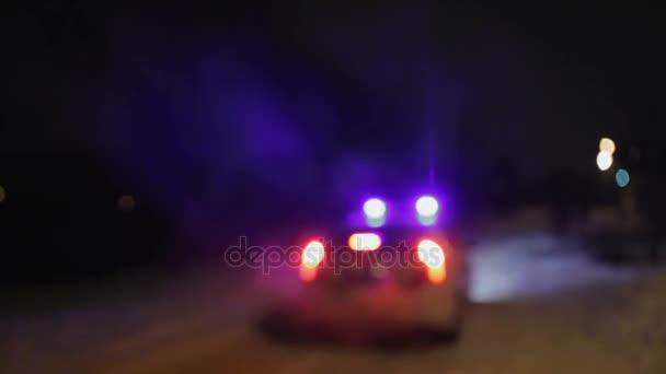 Policie z místa