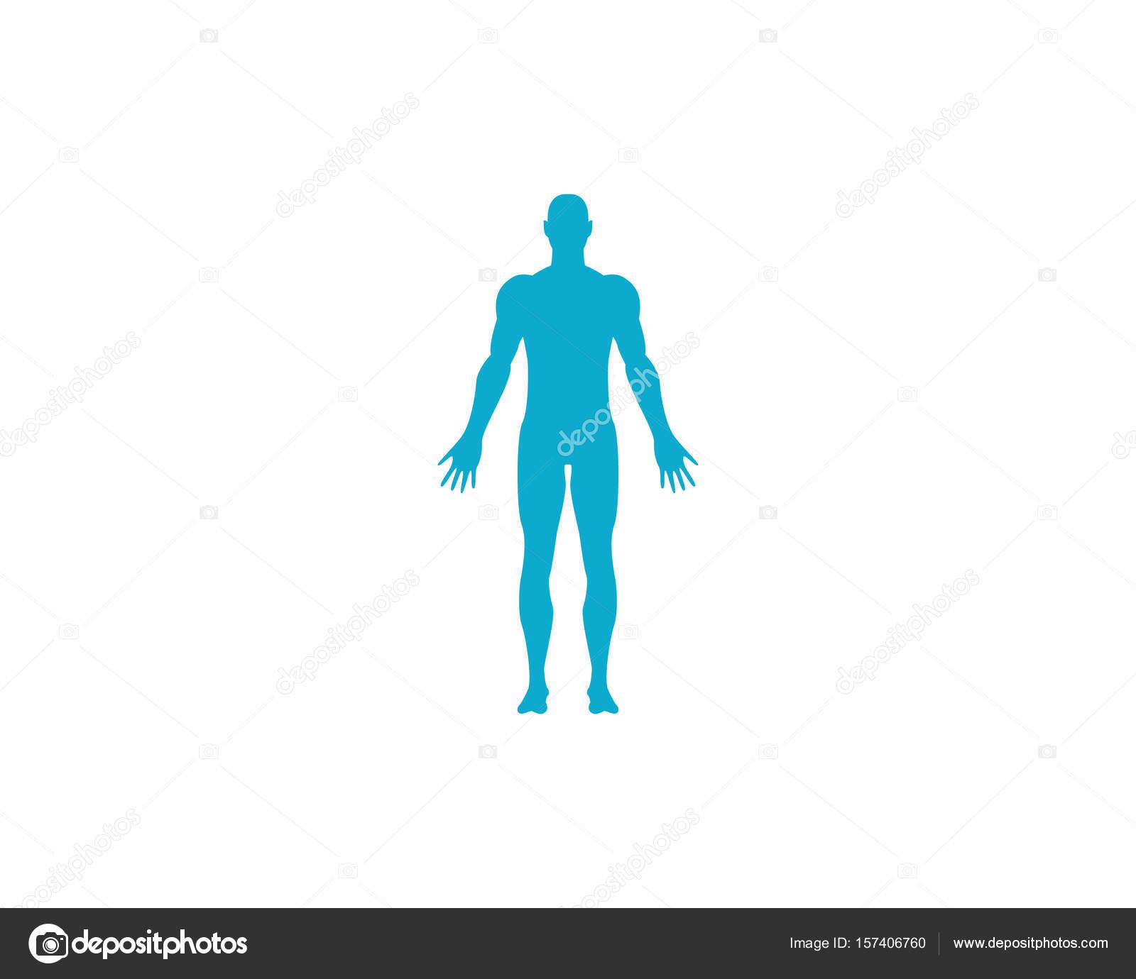 Körper Menschen Pflegen Erfolg Gesundheit Leben Logo Vorlage Symbole ...