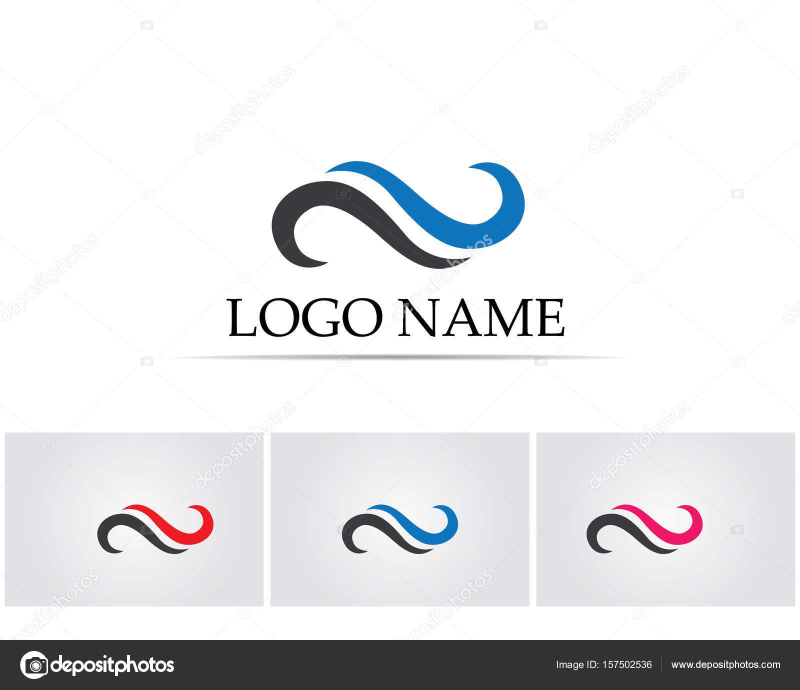 Infinity Logo Symbol Template Icons App Stock Vector Hatigraphic