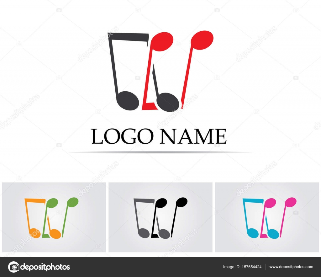Music note symbols logo and icons template stock vector music note symbols logo and icons template stock vector 157654424 buycottarizona