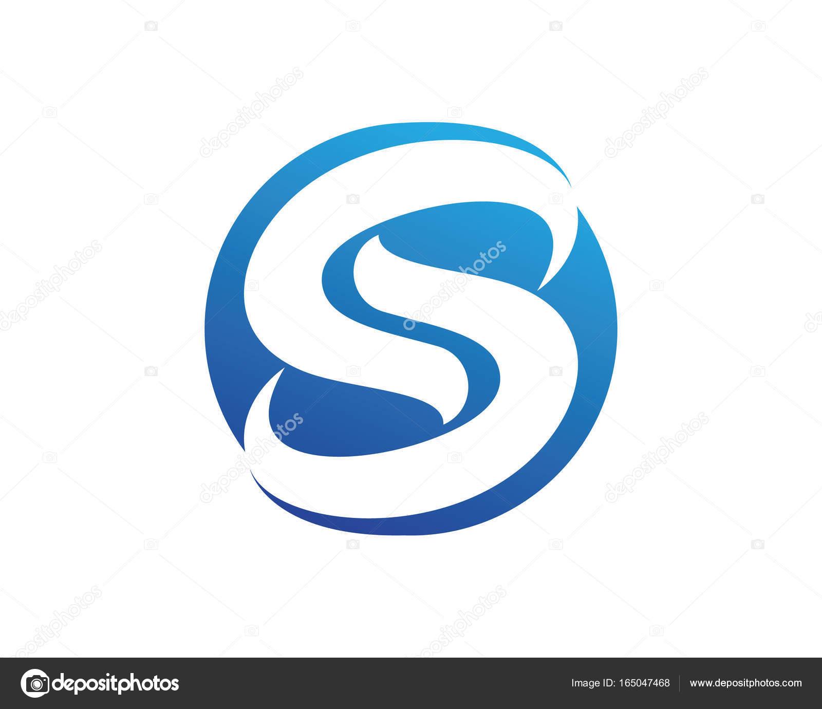 Vector De Negocio Corporativa Letra S Logotipo Dise O