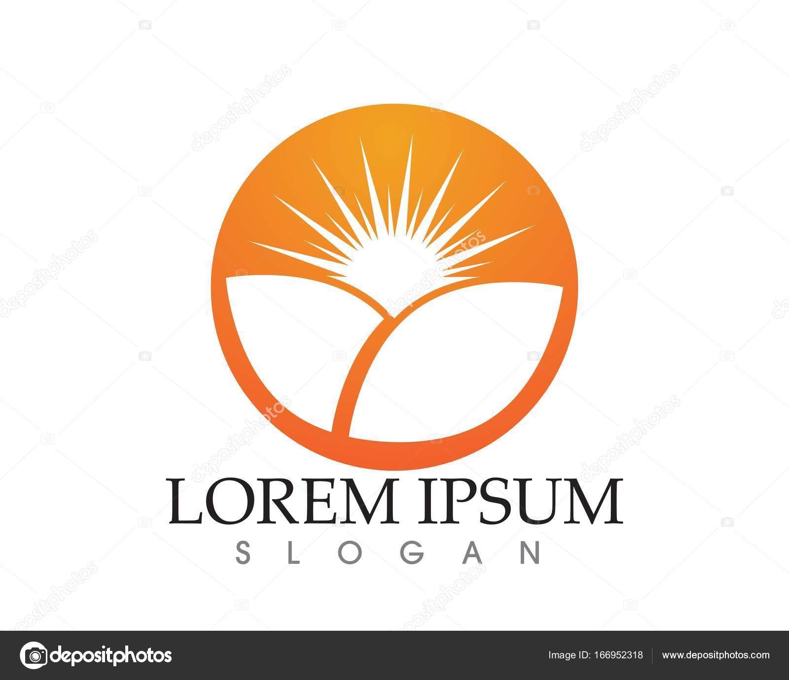 Sun Logo Symbols Star Icon Web Vector Stock Vector Hatigraphic