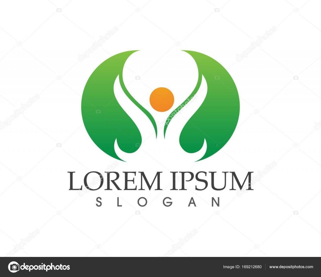 hoja verde naturaleza logotipo y símbolo de plantilla Vector ...