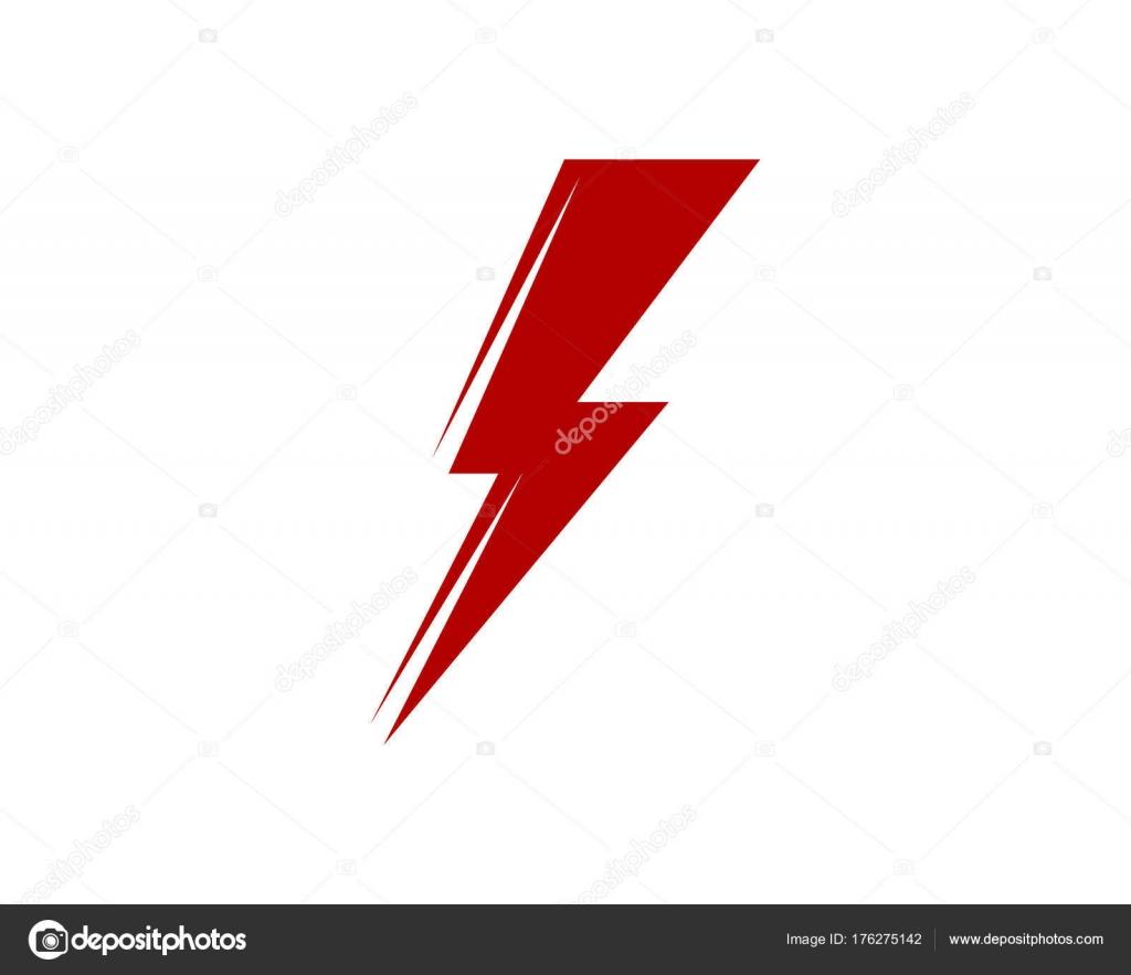Rayo logotipo plantilla vector icono ilustración diseño — Archivo ...