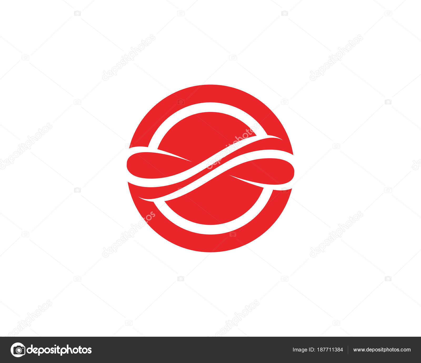 Infinity Logo And Symbol Template Icons App Vector Stock Vector