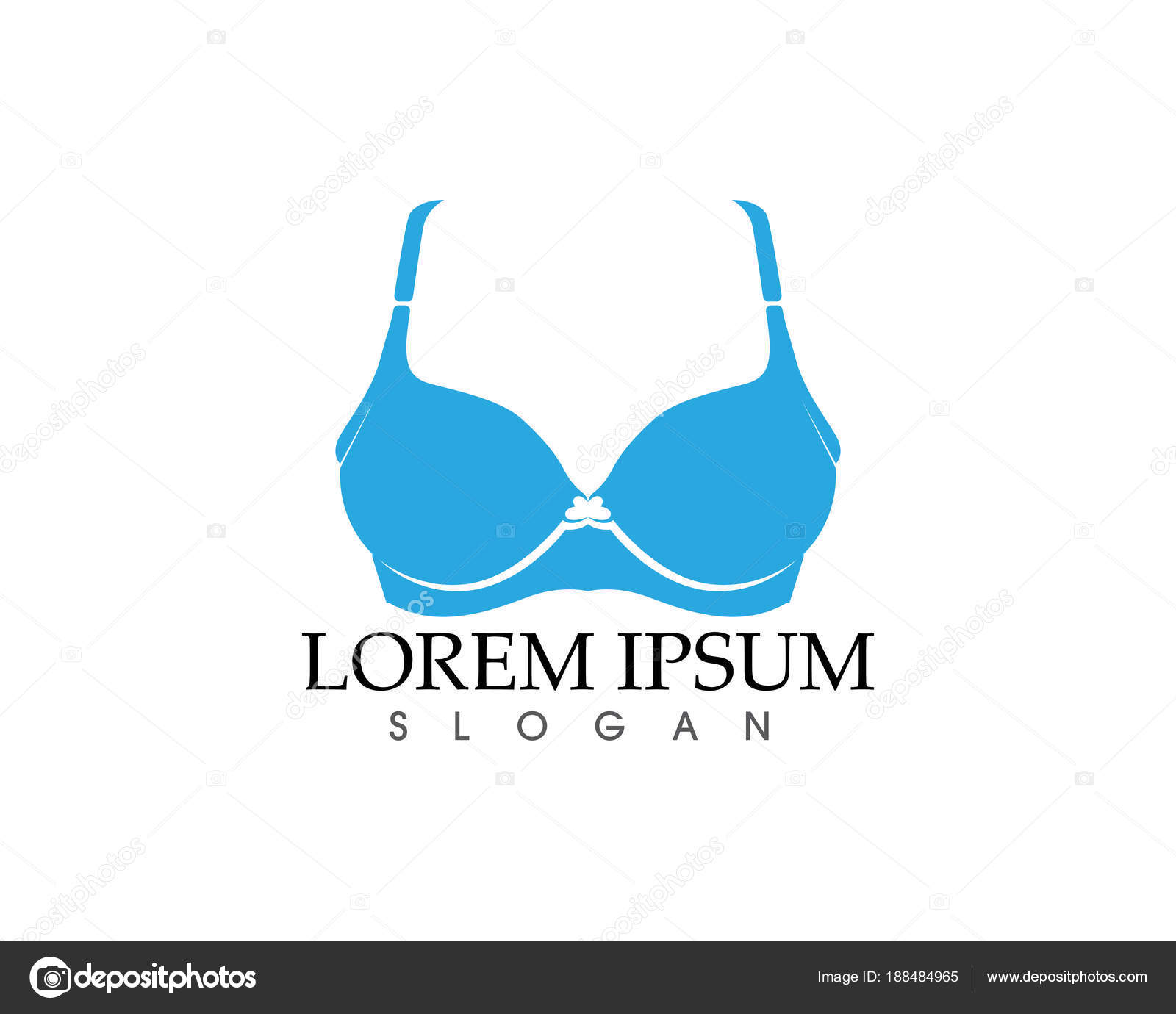 99ded82460468 Set of different push up bras isolated over white background — Vector by  Hatigraphic