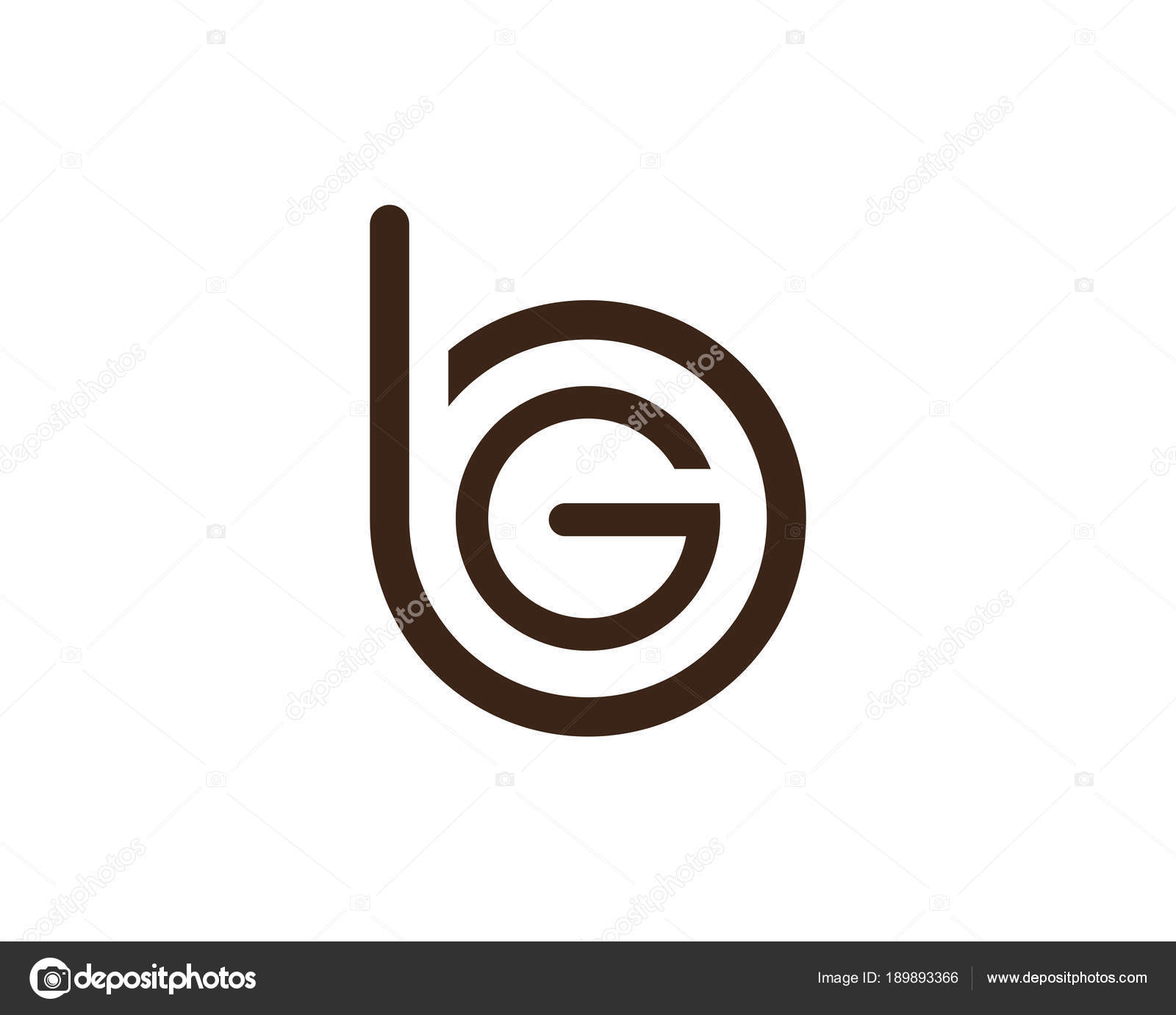 G Letters Logo And Symbols Template Icons App Stock Vector