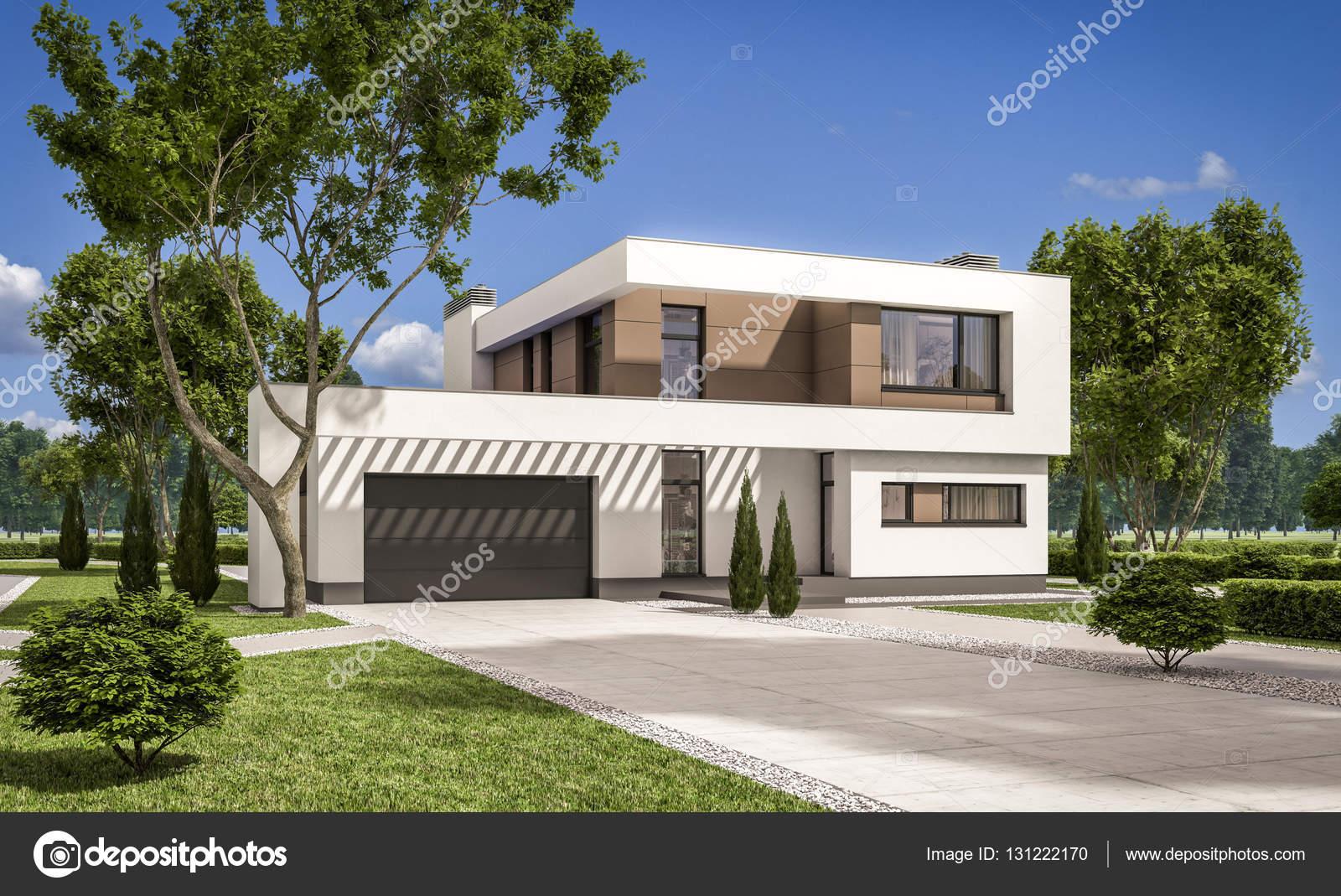 D rendering van moderne huis u stockfoto korisbo gmail
