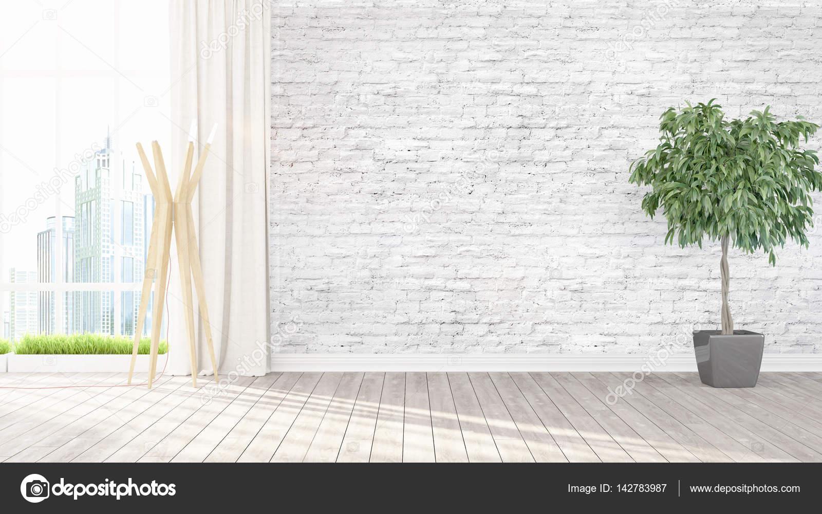 Moderne helle Inneneinrichtung. 3D-Rendering — Stockfoto © elsar77 ...