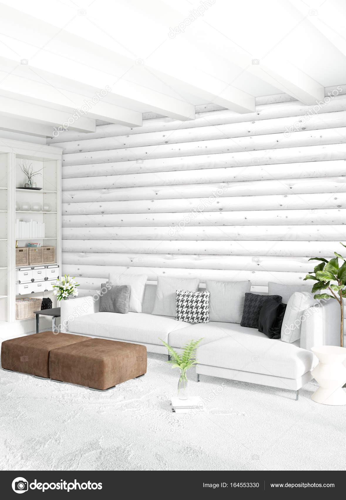 Estilo minimalista dise o de interiores con madera de la for Diseno de dormitorio blanco