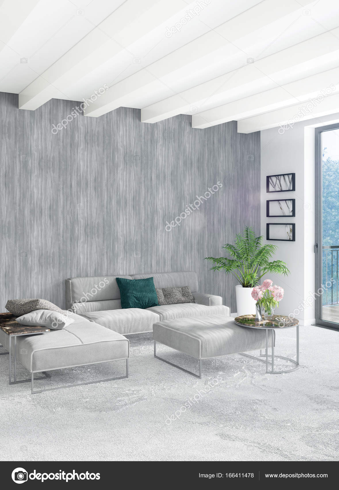 Grijs Wit Interieur. Amazing Woonkamer Tianca Grijswit Meram ...