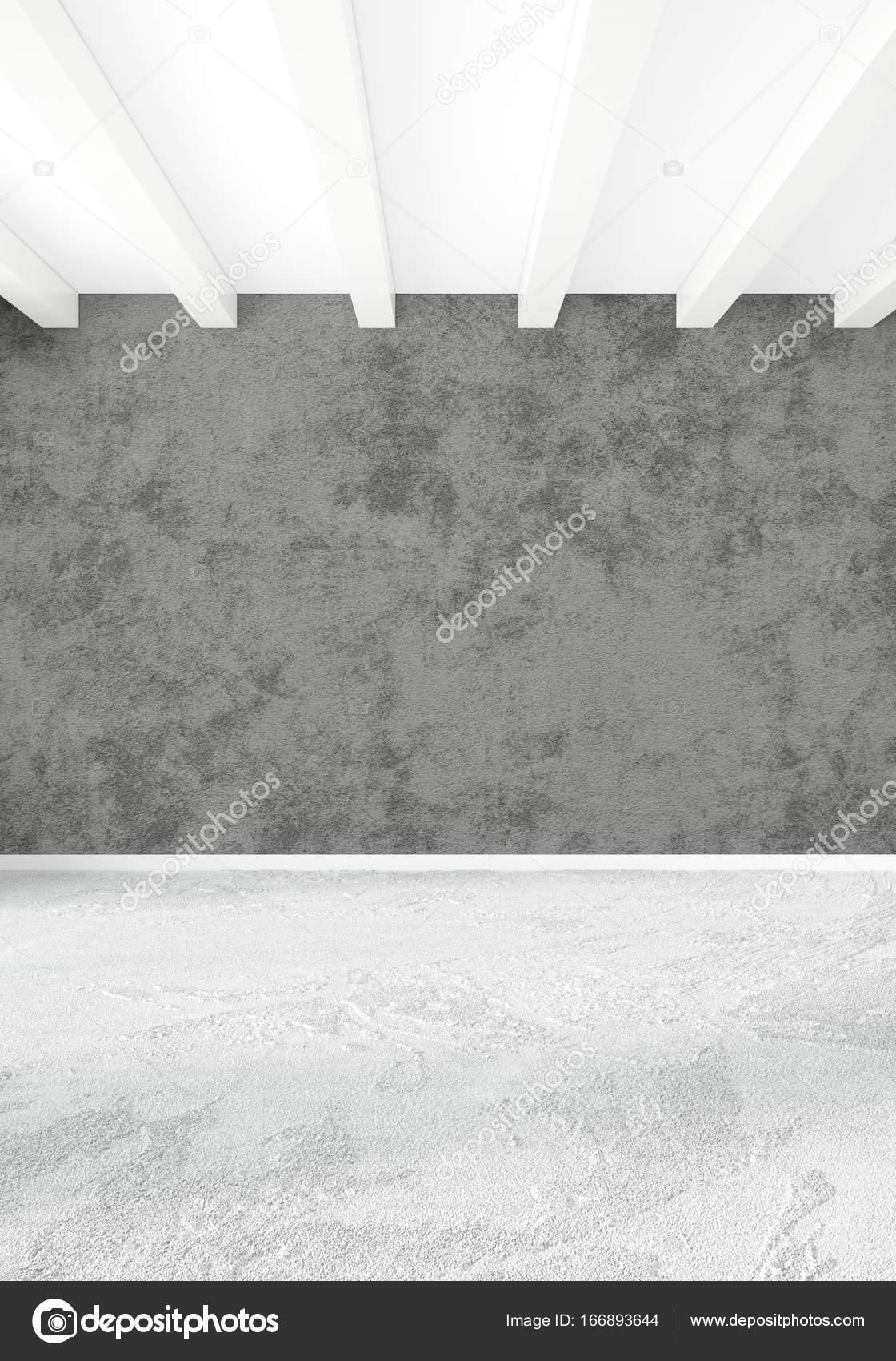 최소한의 스타일 화이트 침실 나무 벽과 회색 소파 인테리어 ...