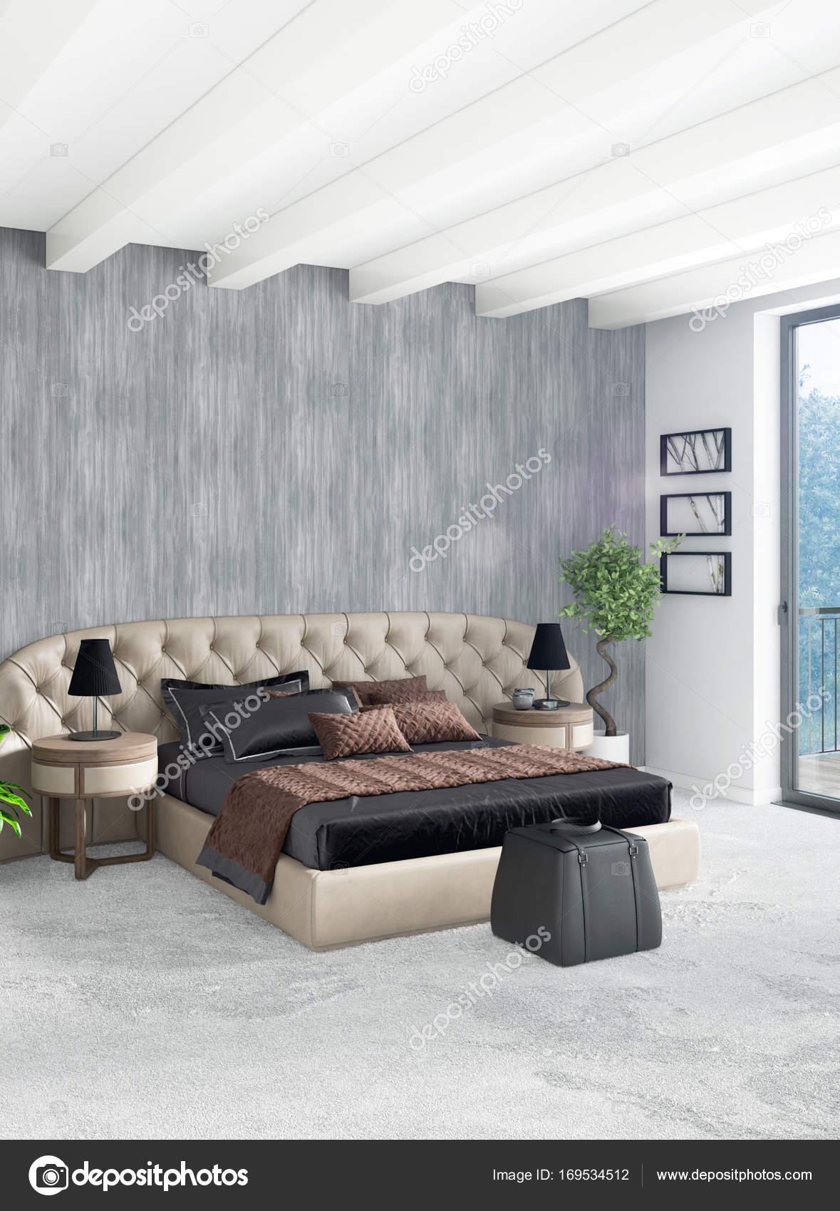 Letto Matrimoniale A Soppalco.Soppalco Con Letto Matrimoniale In Stile Moderno Interior Design Con