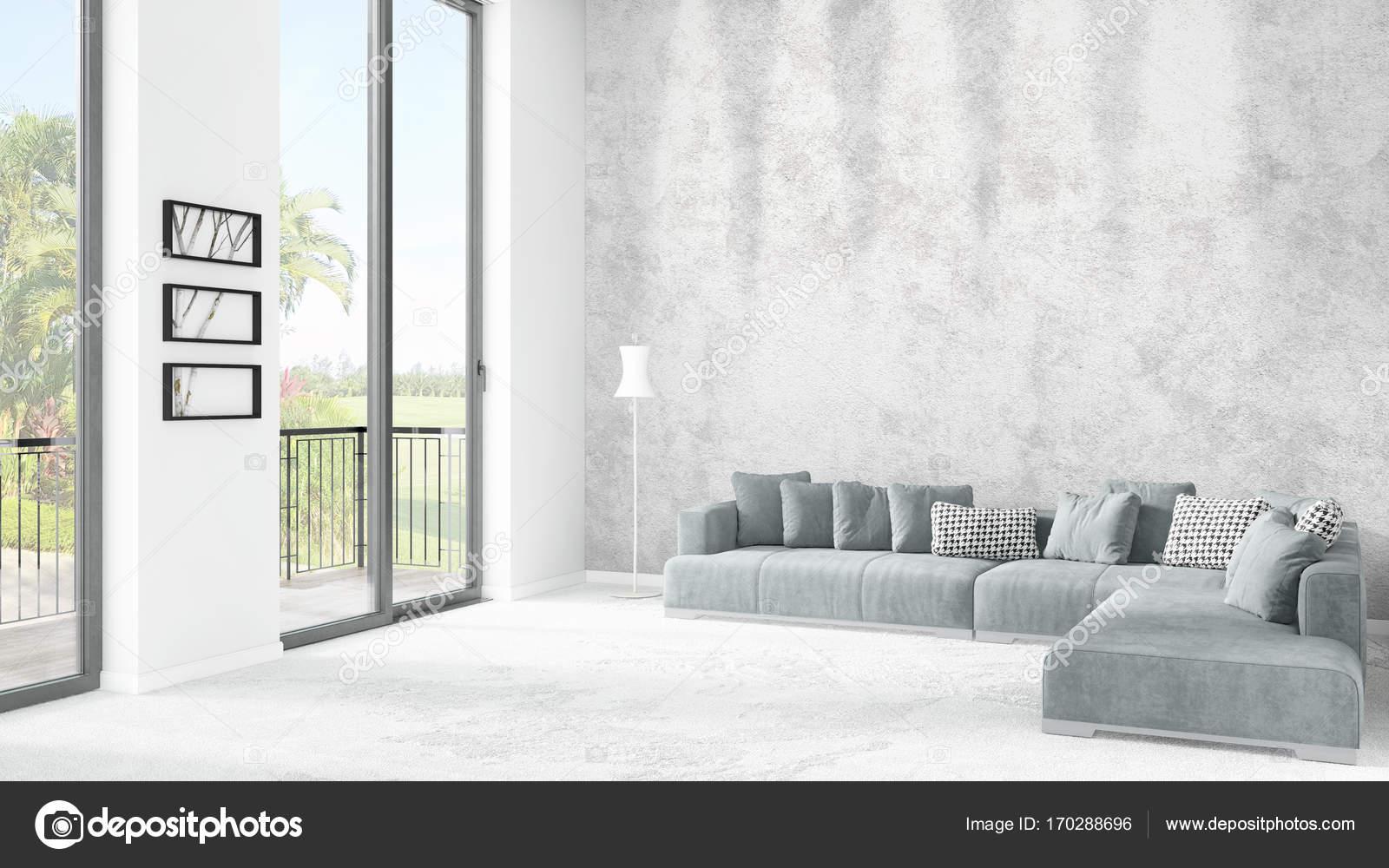 Minimalistisch interieur uitzicht: minimalistisch interieur von