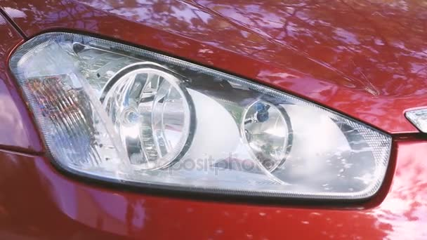blikající auto světlometu zapnout
