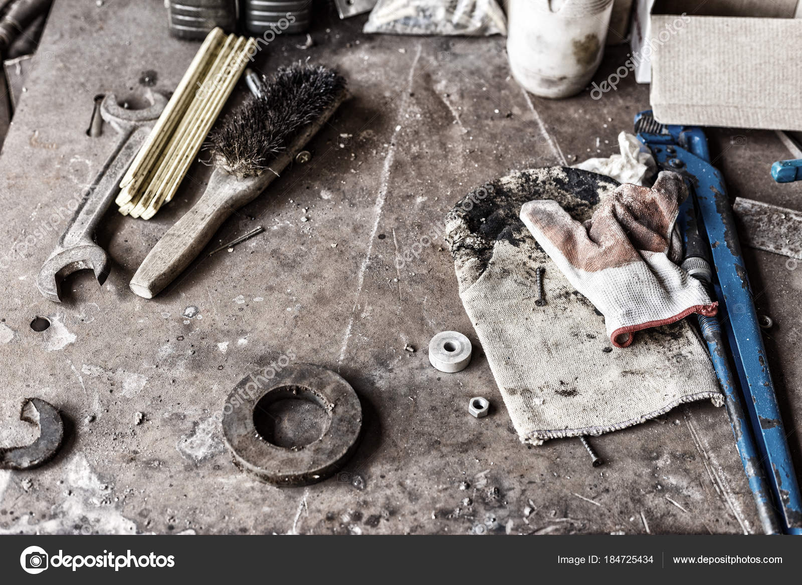 Working tools and hardware — Stock Photo © Alexshyripa