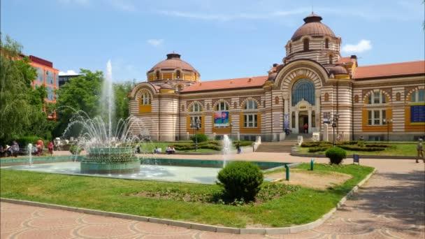Sofia, Bulgaria. Circa July 2018.The Regional History Museum on a sunny day